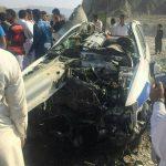 تصادف شدید خودرو پلیس راه در چابهار!