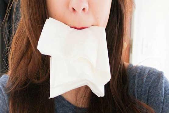 دستمال کاغذی بخورید تا لاغر شوید!! + تصاویر