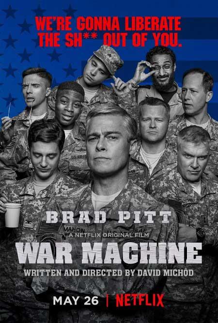 برد پیت در فیلم ماشین جنگی