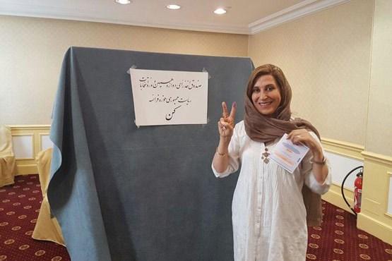 رای دادن اصغر فرهادی در کن
