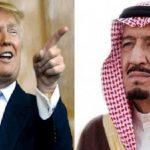 اسکورت عجیب خودروی ترامپ در عربستان!