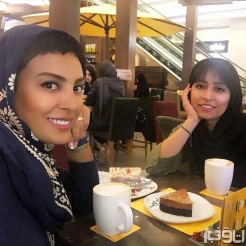 حدیثه تهرانی و خواهرش