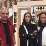 هدیه نوستالژیک خواهران بازیگر به مهران مدیری