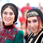 سودابه بیضایی و نسیم ادبی با تیپ متفاوت در جشنواره فیلم کن