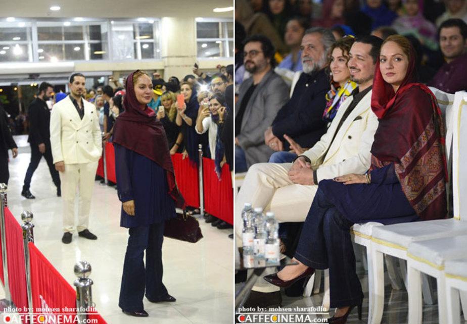 مهناز افشار در افتتاحیه نهنگ عنبر