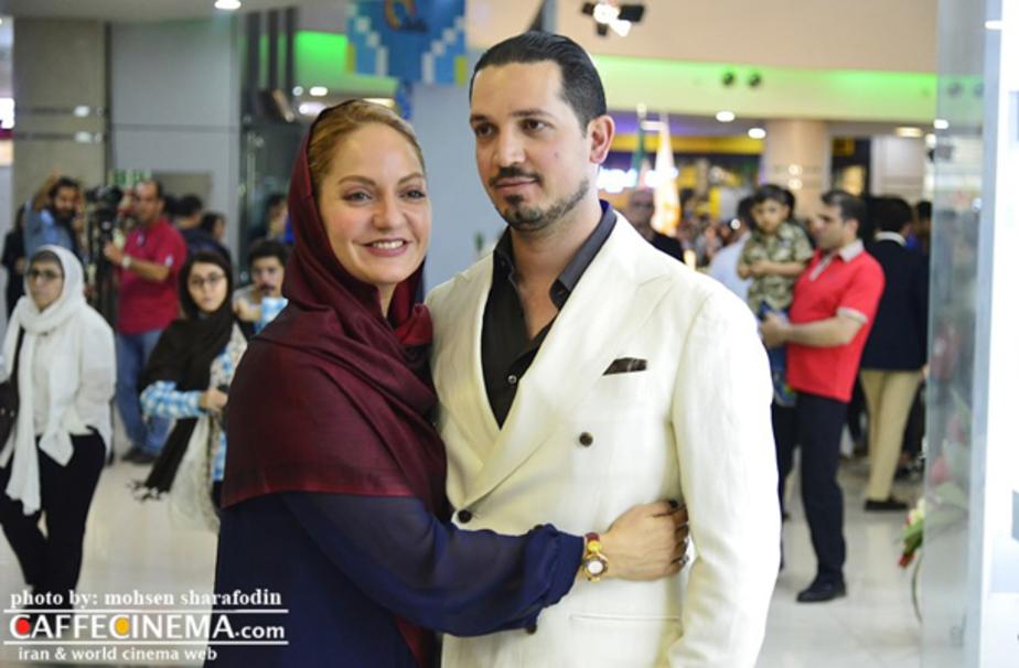 """مهناز افشار و همسرش در """"مگامال"""""""