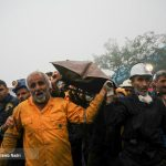لحظات کشف جسد آخرین معدنکار فاجعه آزادشهر+ تصاویر