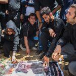 مراسم تشییع مجید نائینی با حضور ورزشکاران سرشناس