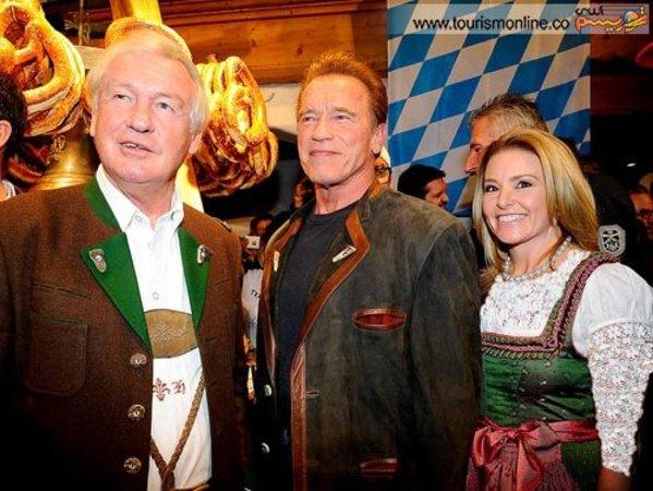 آرنولد و همسرش در اتریش