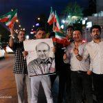 خیابان های تهران پس از سومین مناظره کاندایداهای ریاست جمهوری+ تصاویر