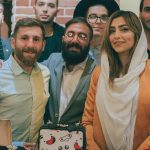 رضا پرستش , مسی ایرانی در کنار سحر قریشی و الهام عرب!