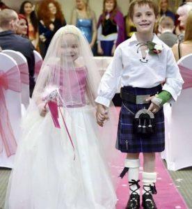 مراسم ازدواج غم انگیز دختربچه 5 ساله با پسر 6 ساله! + فیلم