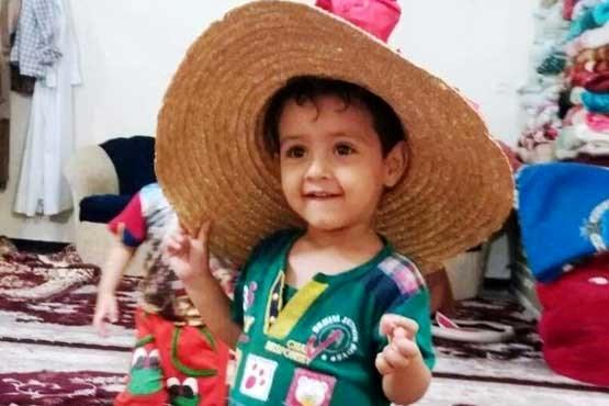پیکر کودک در کانال فاضلاب