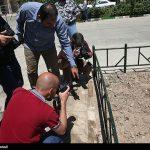 بازسازی صحنه حمله مسلحانه به حرم امام خمینی(ره)
