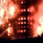 آتش سوزی گسترده یک برج مسکونی ۲۴ طبقه در لندن!