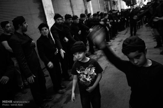 عزاداری شهادت حضرت علی در تبریز
