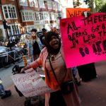 اعتراض لندنیها به فاجعه آتشسوزی گرنفل!