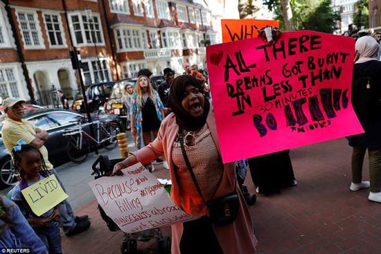 اعتراض لندنیها به حادثه گرنفل