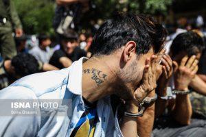 دستگیری ۱۴۵ سارق و زورگیر در پایتخت