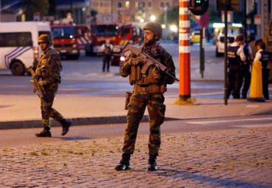 انفجار تروریستی در مترو بروکسل