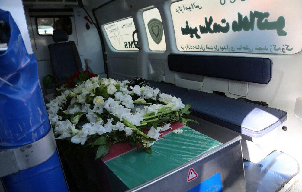 تشییع دو زن کشته شده در مجلس