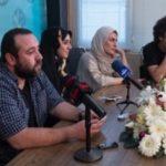 درگیری عجیب بهناز جعفری با خبرنگاران در نشست سریال زیر پای مادر!