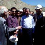 بازدید جهانگیری از آزادراه تهران-شمال در آستانه افتتاح قطعه اول