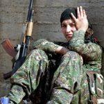 دختران کُردی که به جنگ داعش رفتند!