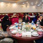 مراسم افطاری زنان مجلس با خانواده شهدای آتشنشان