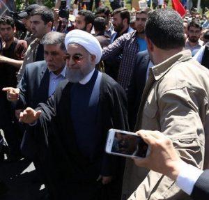 اولین واکنش معنادار روحانی به هتاکی ها در روز قدس!