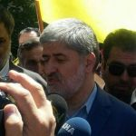 حضور پرحاشیه علی مطهری در راهپیمایی روز قدس!