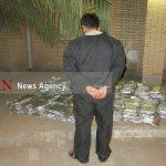 کشف ۴۰۸ کیلوگرم مواد مخدر از یک دستگاه تریلر کشنده