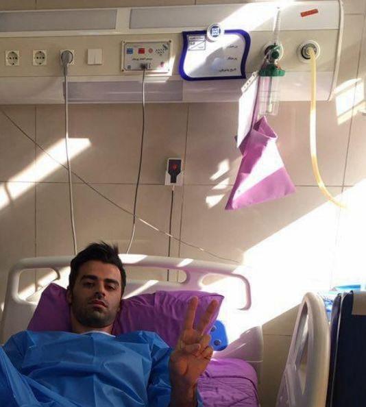عمل جراحی مسعود حسنزاده