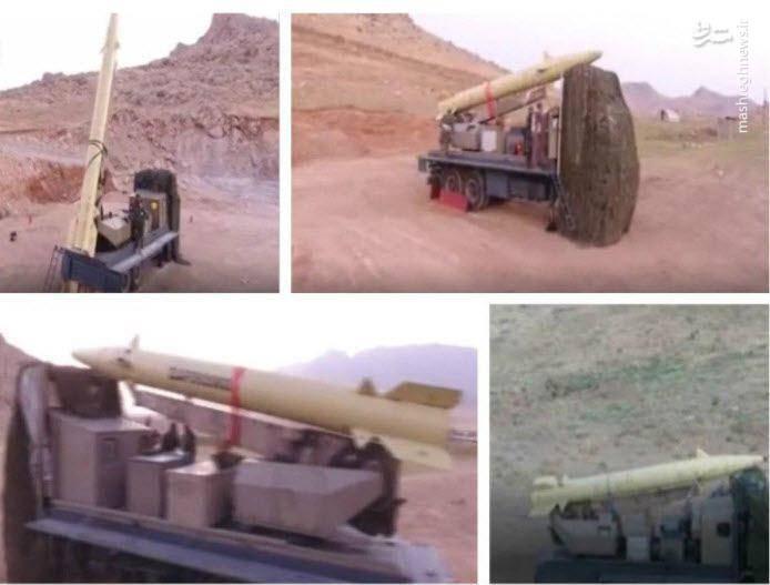 موشکها قبل از شلیک به داعش