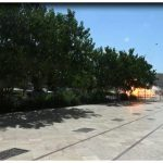 لحظه انفجار انتحاری در محوطه مرقد امام(ره) + فیلم