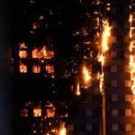 ناتوانی نیروهای امدادی از خاموش کردن آتش در برج گرنفل لندن