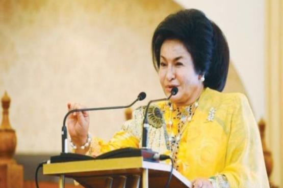 الماس همسر نخست وزیر مالزی