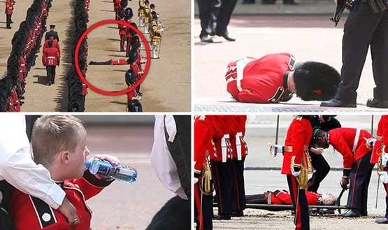 رژه جشن تولد ملکه انگلیس