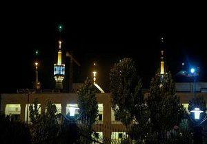 تیراندازی هوایی در حرم امام خمینی (ره)!