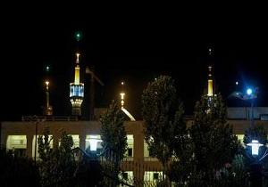تیراندازی هوایی در حرم امام خمینی