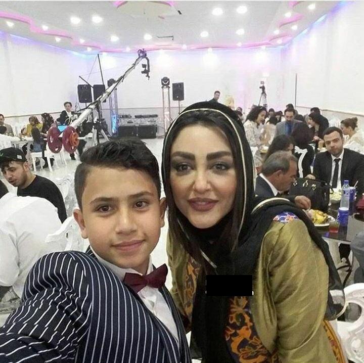 شقایق فراهانی در مجلس عروسی