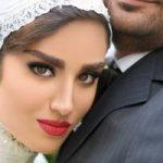 هانیه غلامی و همسرش مدل های تبلیغاتی عروس و داماد شدند!