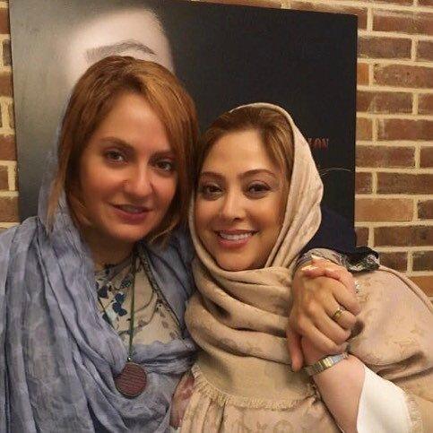 بازیگران در سالن زیبایی مریم سلطانی