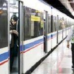 فرزند هنرپیشه معروف حکم ریاست در مترو گرفت