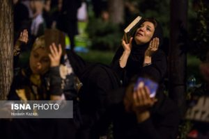 تصاویر مراسم احیای شب بیست و سوم در تهران