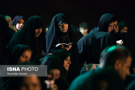 مراسم احیا در تهران