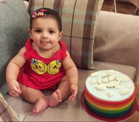 جشن تولد دختر یکتا ناصر