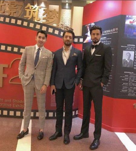 بازیگران در جشنواره فیلم شانگهای