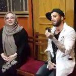 مراسم آشتی کنان بهنوش بختیاری و تتلو! + فیلم