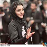 تصویری از ساره بیات روی پوستر یک فیلم سینمایی